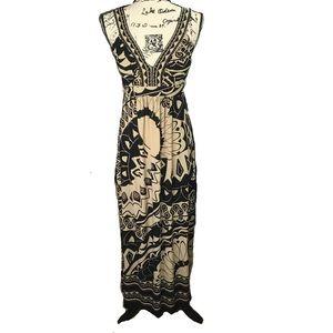 Enfocus Studio | Tribal Floor Length Maxi Dress